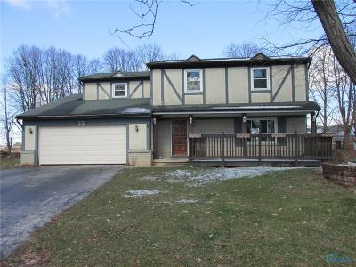 Maumee OH Single Family Home For Sale: $142,500
