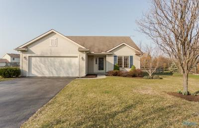 Perrysburg Single Family Home Contingent: 819 Little Creek Drive