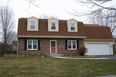 Maumee Single Family Home For Sale: 2363 Garden Creek Drive