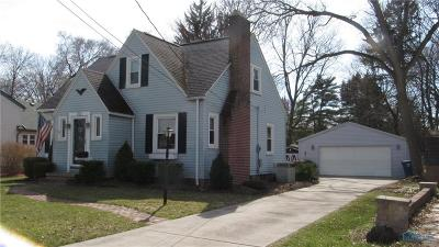 Perrysburg Single Family Home Contingent: 722 Cherry Street