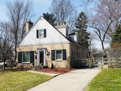 Sylvania Single Family Home Contingent: 5917 Highland View Drive
