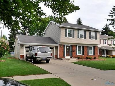 Maumee Single Family Home Contingent: 613 Orchard View Drive