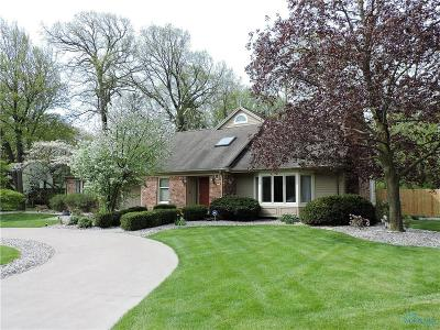 Perrysburg Single Family Home Contingent: 102 Secor Woods Lane
