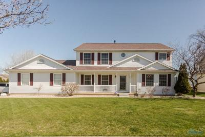 Perrysburg Single Family Home Contingent: 2461 McKinley Drive