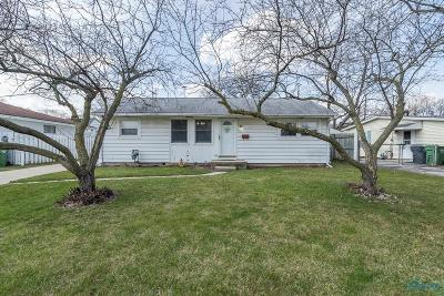 Maumee Single Family Home Contingent: 1117 Cady Street