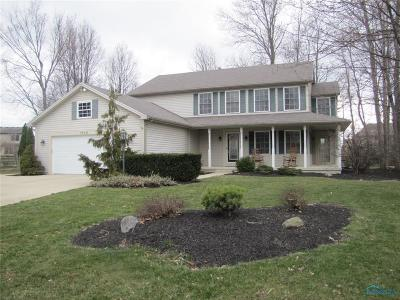 Perrysburg Single Family Home Contingent: 1318 Tricia Court