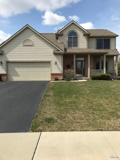 Perrysburg Single Family Home Contingent: 26579 Woodmont Drive