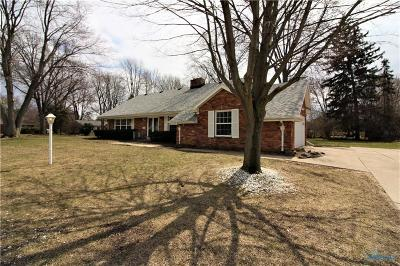 Toledo Single Family Home Contingent: 5241 Pickfair Drive