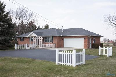 Perrysburg Single Family Home For Sale: 10960 Roachton Road