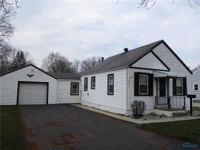 Toledo OH Single Family Home Contingent: $76,000