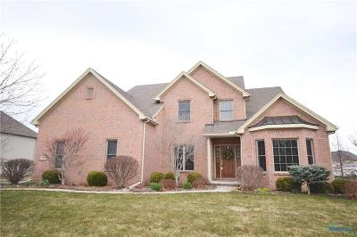 Maumee Single Family Home For Sale: 7858 Chestnut Ridge
