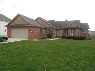 Perrysburg Single Family Home Contingent: 556 Prairie Rose Drive