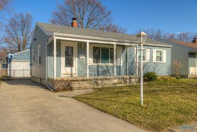 Maumee Single Family Home Contingent: 1385 Junior Drive