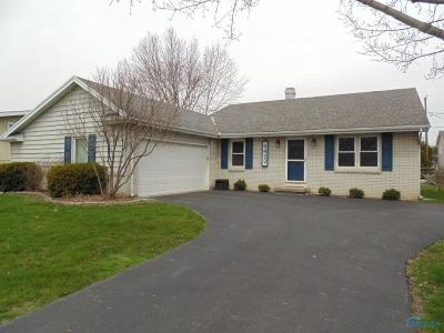 Maumee Single Family Home For Sale: 6422 Danny Lane