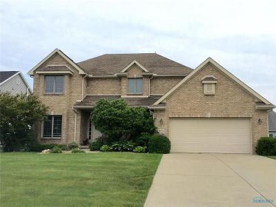 Perrysburg Single Family Home For Sale: 14670 Lake Meadows Drive