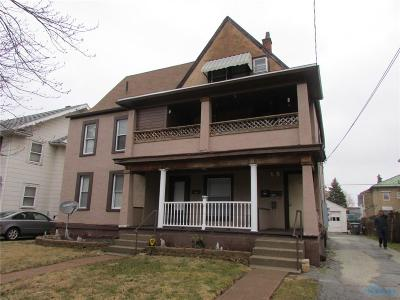 Toledo OH Multi Family Home For Sale: $0