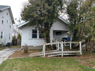 Toledo OH Single Family Home For Sale: $14,000