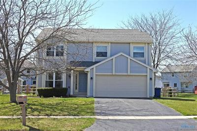 Perrysburg Single Family Home For Sale: 1654 Castlebar Drive