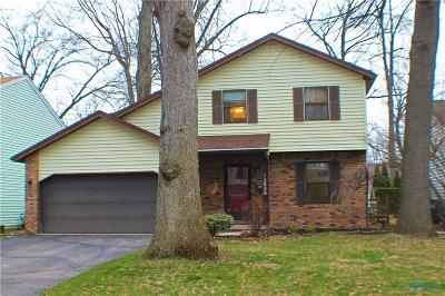 Toledo Single Family Home For Sale: 3836 Philmar Drive