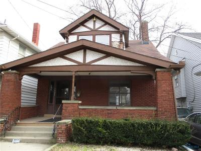 Toledo OH Single Family Home For Sale: $49,500