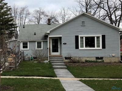 Perrysburg Single Family Home Contingent: 245 Cherry Street