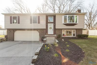 Maumee Single Family Home For Sale: 1104 Winghaven Road