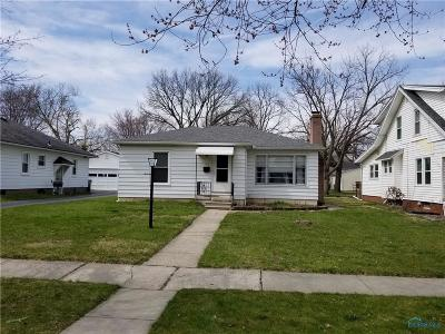 Maumee Single Family Home For Sale: 419 W Dudley Street