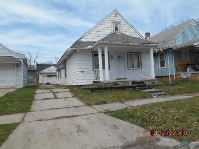 Toledo Single Family Home For Sale: 1754 Finch Street
