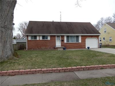 Toledo OH Single Family Home For Sale: $95,000