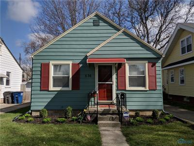 Toledo OH Single Family Home For Sale: $52,500