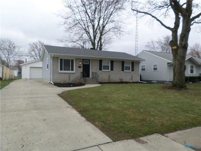Toledo OH Single Family Home For Sale: $119,900