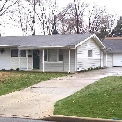 Sylvania Single Family Home Contingent: 4925 Brinthaven Drive