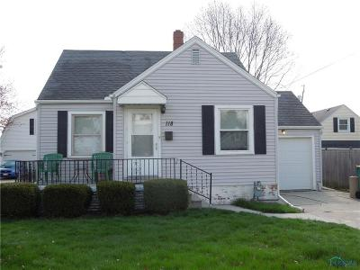 Rossford Single Family Home For Sale: 118 Helen Drive
