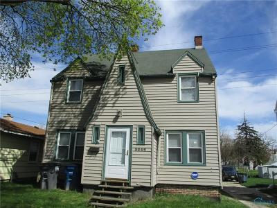 Toledo OH Single Family Home For Sale: $49,900