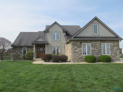 Perrysburg Single Family Home Contingent: 14573 Prairie Lake Drive