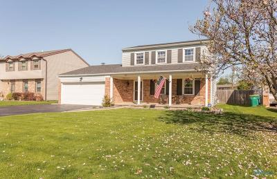 Rossford Single Family Home Contingent: 546 Indian Ridge Trail