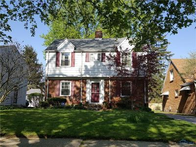 Toledo OH Single Family Home For Sale: $116,000