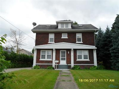 Rossford Multi Family Home Contingent: 205 Riverview Place