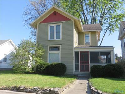 Bowling Green OH Single Family Home Contingent: $114,900