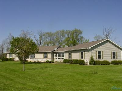 Bryan OH Single Family Home Contingent: $219,900