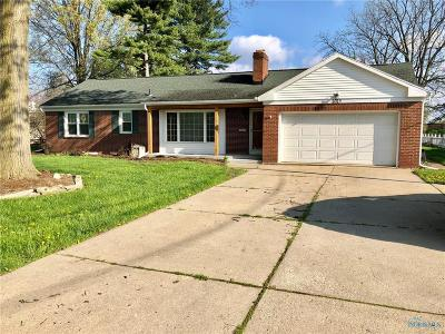Maumee Single Family Home For Sale: 1015 River Road