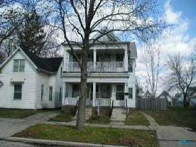 Toledo OH Multi Family Home For Sale: $33,000