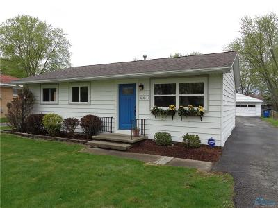 Toledo OH Single Family Home For Sale: $124,500