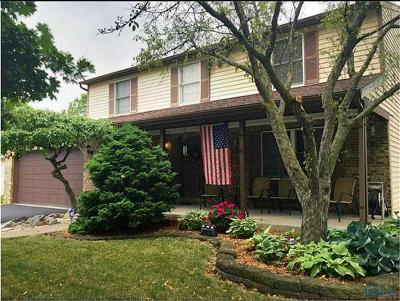 Maumee Single Family Home For Sale: 6510 Glenhurst Drive