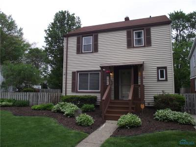 Toledo OH Single Family Home For Sale: $134,900