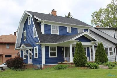 Toledo Single Family Home For Sale: 1230 Harvard Boulevard