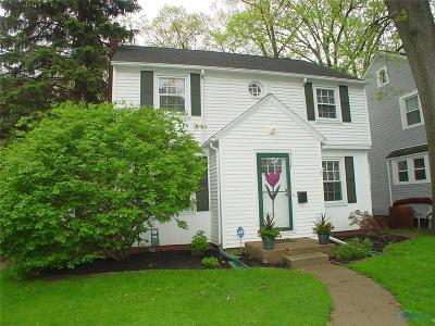 Toledo Single Family Home For Sale: 3734 Harley Road