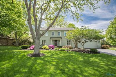 Perrysburg Single Family Home For Sale: 9905 Sedgefield Road