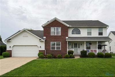 Perrysburg Single Family Home For Sale: 664 Prairie Rose Drive