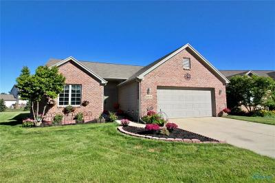 Perrysburg Condo/Townhouse For Sale: 10196 N Shannon Hills Drive